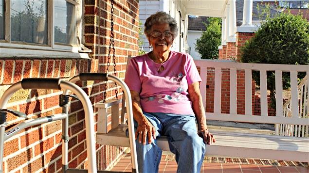 Vera Harris, son mari était un des défenseurs des droits civils.