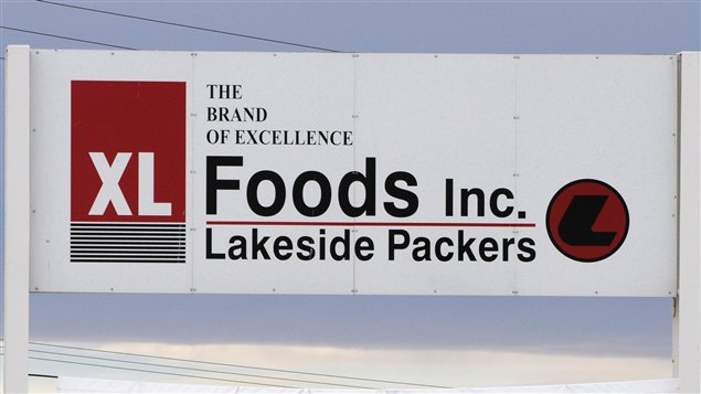 L'usine de XL Foods, à Brooks, en Alberta