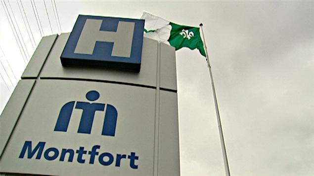 L'Hôpital Montfort d'Ottawa.