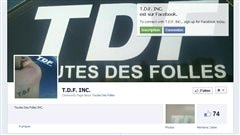 Le site Facebook &amp;#160;Toutes des folles&amp;#160; compte prs de 400 membres.