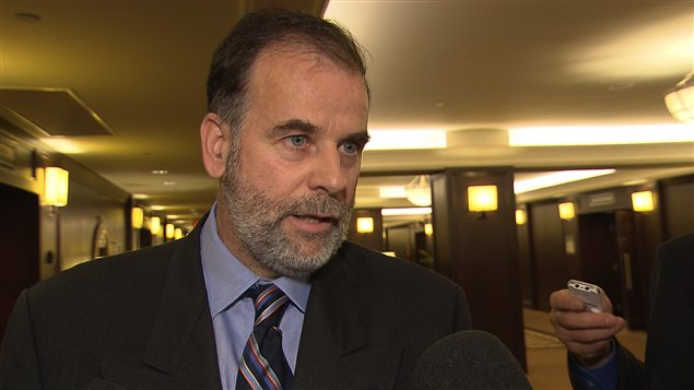 Le ministre québécois de l'Enseignement supérieur, Pierre Duchesne