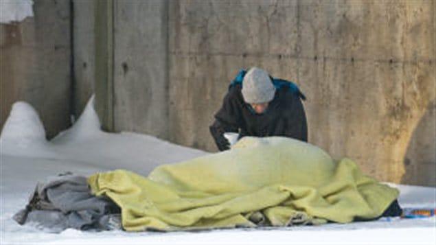 La vague de froid rend la vie dure aux sans-abri. (archives)