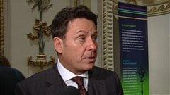 Le député libéral de Verchères, Pierre Moreau