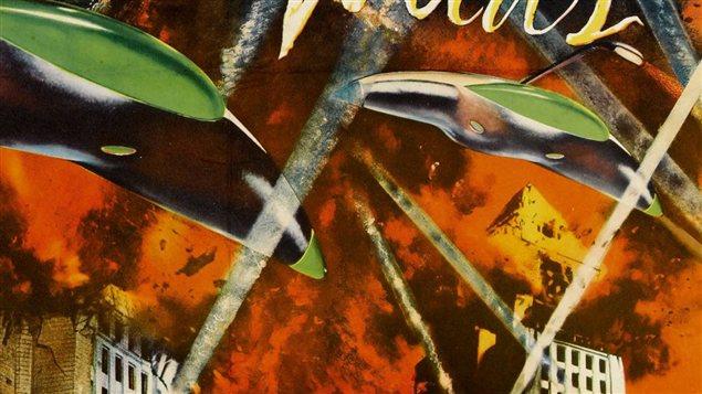 <b>Invasion d'extraterrestres</b> | Détail de l'affiche <em>The War of the Worlds</em> (1953)