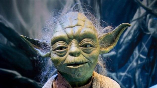 Yoda, le populaire personnage de la série Star wars