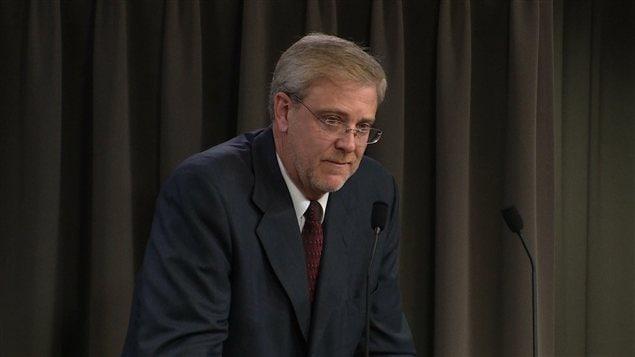 L'avocat d'Union Montréal, Me Michel Dorval