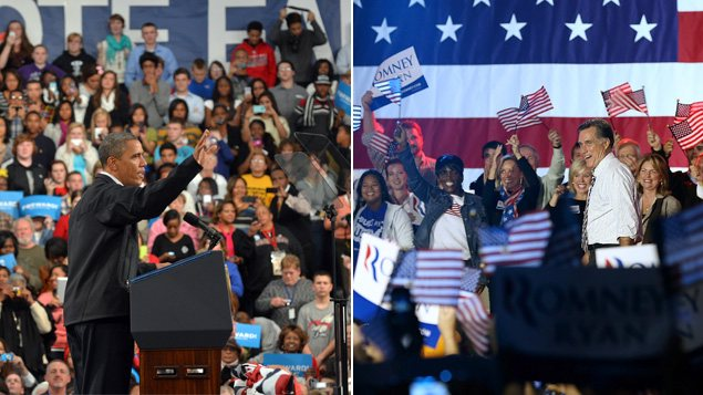 Derniers jours de campagne : Obama en Ohio et Romney en Floride