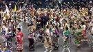 Hommage à Lorna Blacksmith en marge du Pow Wow Manito Ahbee