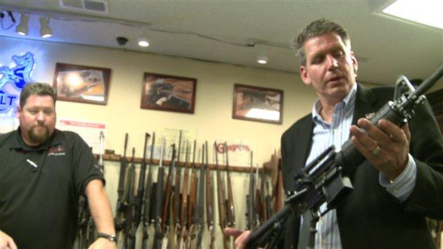Rich Wyatt, propriétaire du Gunsmoke