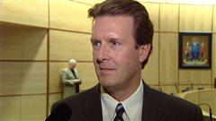 Michael Fougere, nouveau maire de Regina.