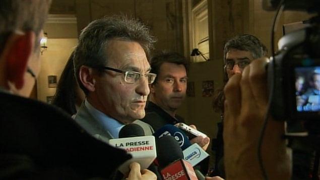 Richard Bergeron, chef de Projet Montréal, réagit à la démission du maire Gérald Tremblay.