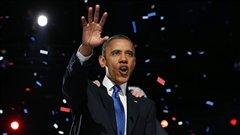 Barack Obama, grand vainqueur de l'élection présidentielle américaine