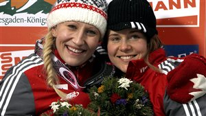 Kaillie Humphries et Emily Baadsvik