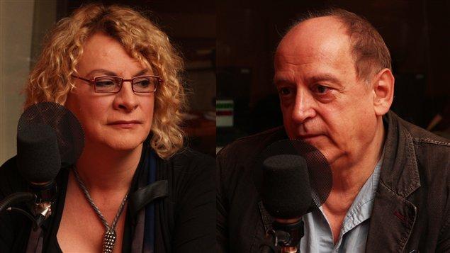 Michelle Blanc et Jacques Lanctôt ©Radio-Canada/Marie-Sandrine Auger