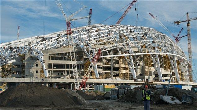 Le Stade olympique Fisht à Sotchi
