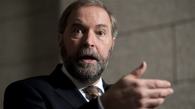 Thomas Mulcair, chef du NPD