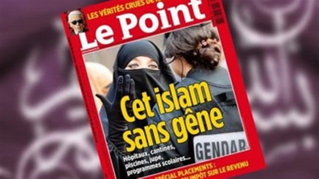 La une controvers�e du <em>Point </em> sur l'islam