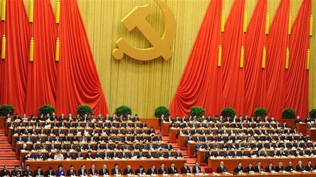 À l'occasion du 18e congrès du Parti communiste chinois, 2000 délégués sont réunis dans l'immense hall du Palais du peuple pour le discours du président Hu Jintao.
