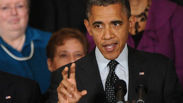 Le président américain, Barack Obama
