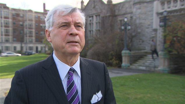 Peter Trent, maire de Westmount