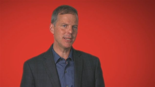 David Merner, candidat � la direction du Parti lib�ral du Canada