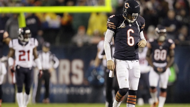 Jay Cutler des Bears de Chicago