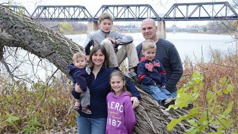 La famille Sorin de Winnipeg
