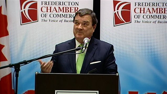 Le ministre des Finances du Canada, Jim Flaherty
