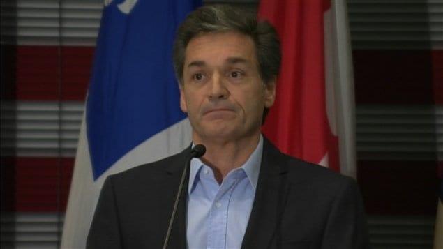Basile Angelopoulos, président du comité exécutif de la Ville de Laval