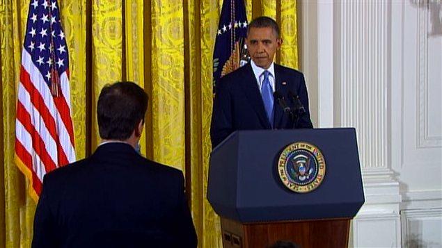 Le président Obama a répondu aux questions des journalistes.