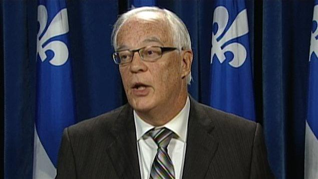 Le porte-parole de l'opposition officielle en matière d'institutions démocratiques, Robert Dutil