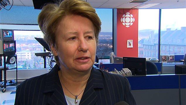 La ministre responsable de la Capitale-nationale, Agnès Maltais