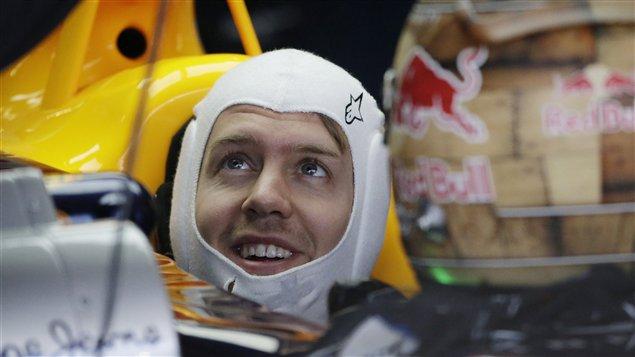 Sebastian Vettel à Austin