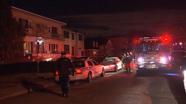 Un homme a été trouvé mort par balle sur cette rue de Montréal-Nord