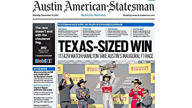 Le journal Austin American-Statesman