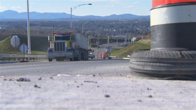 Le prolongement de la 410 à Sherbrooke a été inauguré lundi matin.