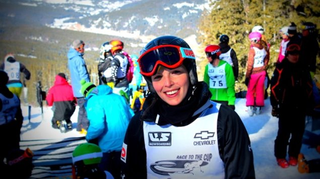Caroline Calv  Copper Mountain au Colorado