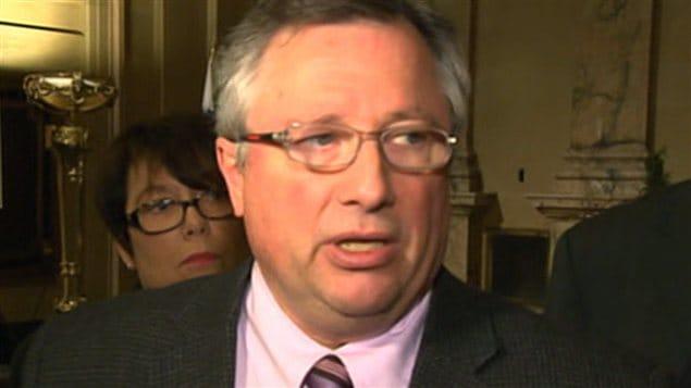 Le chef d'Union Montréal Richard Deschamps