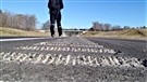 Le dernier tronçon de l'autoroute 50 à la marche