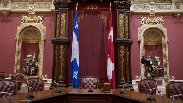 Salon rouge de l'Assemblée nationale