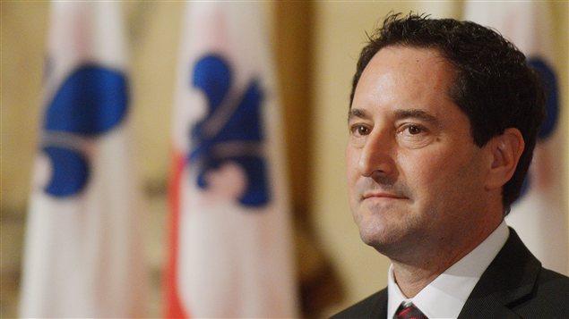 Le maire de Montréal, Michael Applebaum