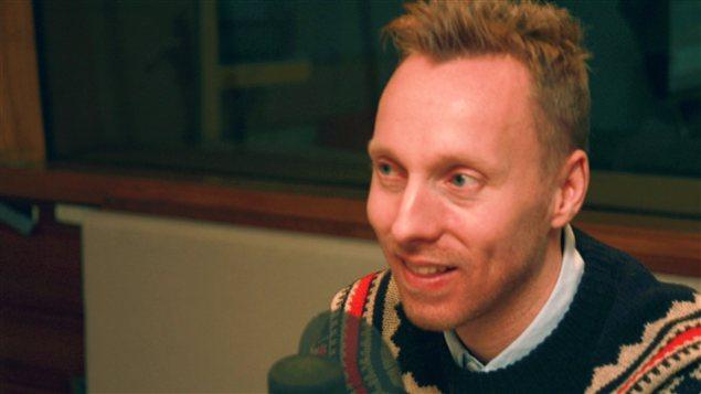Nicolas Langelier | � Radio-Canada / Philippe Couture