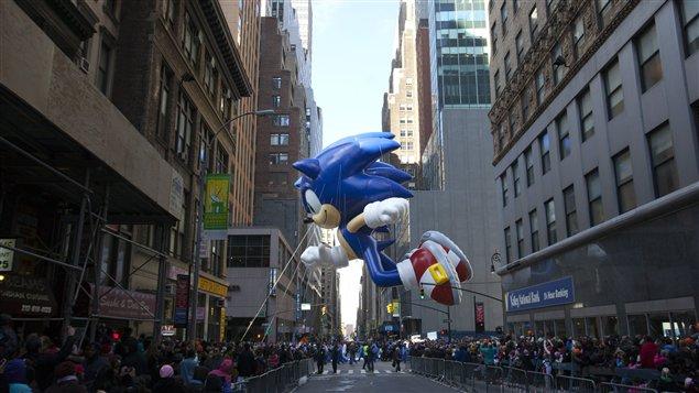 La parade de l'Action de grâces de Macy's, dans les rues de Manhattan