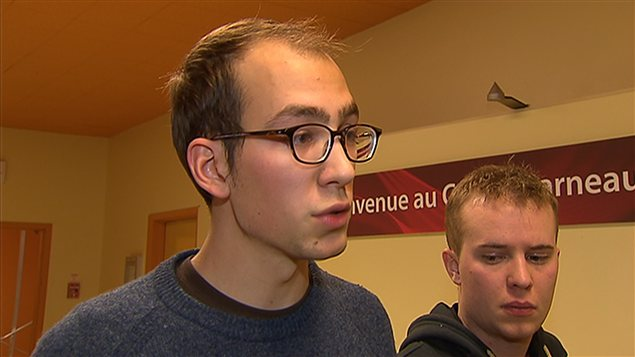 Jérémie Bédard-Wien, spokesperson for student union group ASSÉ, says he is disappointed with the government's refusal to consider free tuition.