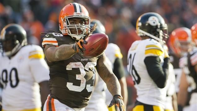 Le demi des Browns de Cleveland Trent Richardson