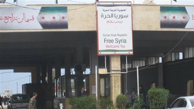 Frontière syrienne de Bab Es-Salam