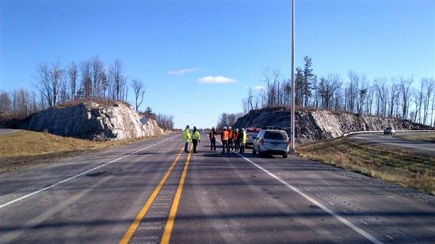 La mise en service de ce tronçon de 18 kilomètres marque la fin des travaux de parachèvement de l'autoroute 50.