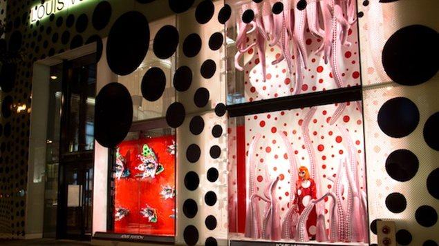 Louis Vuitton X Yayoi Kusama (New York, 2012)
