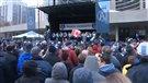 Rassemblement de la victoire à Toronto