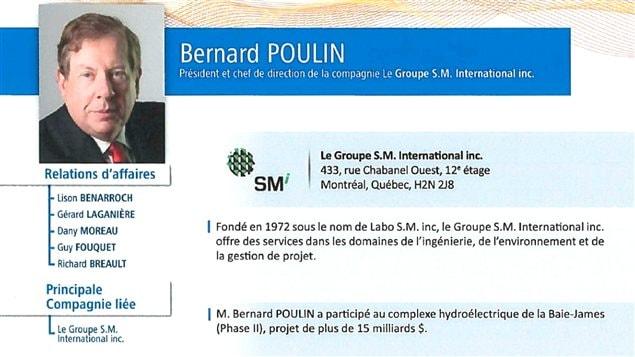 Bernard Poulin